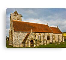 Church in Hughenden  Canvas Print
