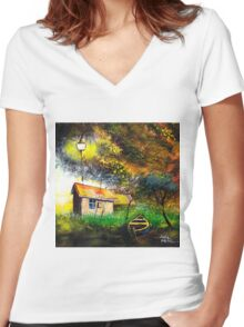 Boat House Women's Fitted V-Neck T-Shirt