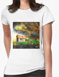Boat House Womens Fitted T-Shirt