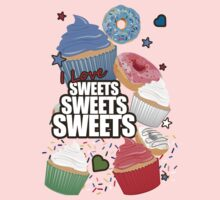 I love Sweets Sweets Sweets Kids Clothes
