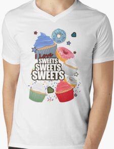 I love Sweets Sweets Sweets Mens V-Neck T-Shirt