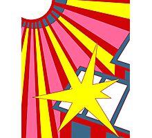 Sol Burst (Summer Pop) Photographic Print