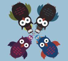 Owl Crowd Kids Clothes