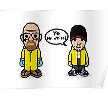 Walt + Jesse Poster