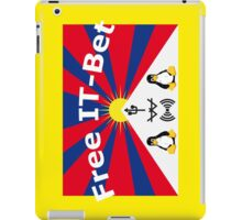 Free IT-Bet Collegeblock iPad Case/Skin