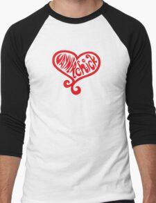 Vaynerchick (red) Men's Baseball ¾ T-Shirt