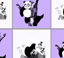 Pandas Checker - Purple Sticker