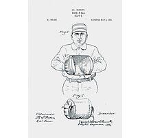 Baseball Glove Patent 1905 Photographic Print