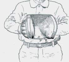 Baseball Glove Patent 1905 Sticker