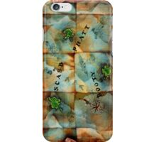 Monkey Island Map iPhone Case/Skin