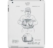 Baseball Glove Patent 1905 iPad Case/Skin