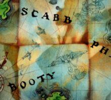 Monkey Island Map Sticker