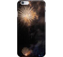 Fireworks background iPhone Case/Skin