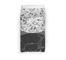Marble abstract Duvet Cover