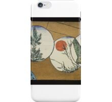 Christopher Grant La Farge (American, ). Small Card Decorated with Landscape Motifs iPhone Case/Skin
