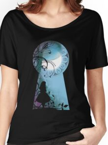 Alice - Through the Keyhole Women's Relaxed Fit T-Shirt