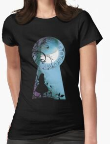Alice - Through the Keyhole Womens Fitted T-Shirt