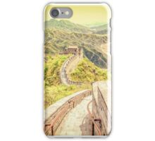 Great Wall of China iPhone Case/Skin