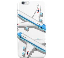 Boeing Aircraft Isometric Airplane iPhone Case/Skin