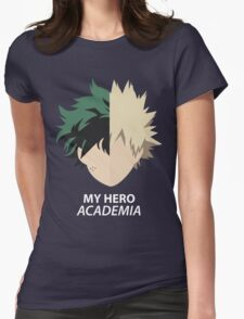 Heroes minimalist Womens Fitted T-Shirt