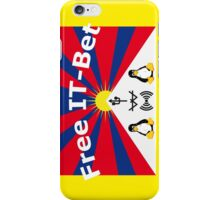 Free IT-Bet Collegeblock iPhone Case/Skin