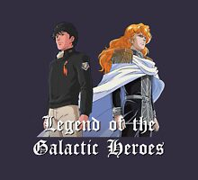Yang Wenli And Reinhard  Legend Of The Galactic Heroes Unisex T-Shirt