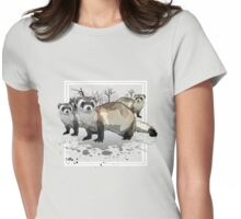 Ferrets Womens Fitted T-Shirt