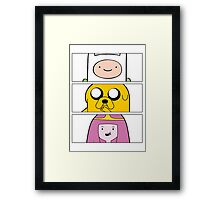 Adventure uh time? Framed Print