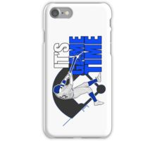 It's Game Time - Baseball (Blue) iPhone Case/Skin