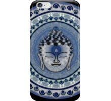 Buddha Aqua Mandala iPhone Case/Skin