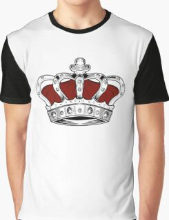 Crown - Red Graphic T-Shirt
