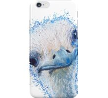 Ostrich painting  iPhone Case/Skin
