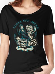 Three Bad Jacks : Hell Driver Women's Relaxed Fit T-Shirt