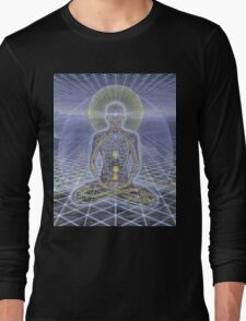 Alex Grey Colourfull 18 Long Sleeve T-Shirt