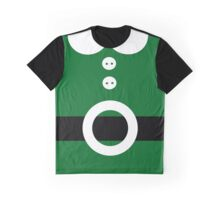 Green Christmas elf costume Graphic T-Shirt