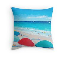 The Weather is Sweet Throw Pillow