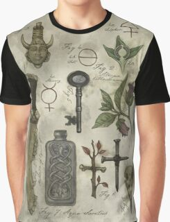 (Super)natural History - Hunter's artefacts Graphic T-Shirt