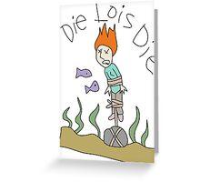 Die Lois Die Greeting Card