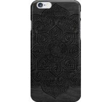 Wood mandala iPhone Case/Skin