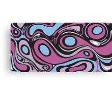 Fluid Purple Canvas Print