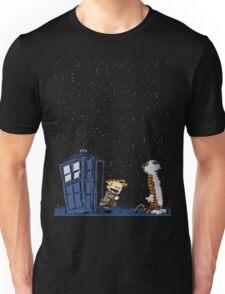 Calvin & Hobbes : Time Travel Unisex T-Shirt