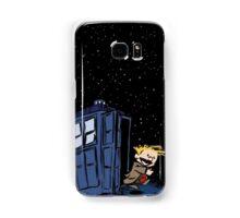 Calvin & Hobbes : Time Travel Samsung Galaxy Case/Skin