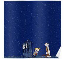 Calvin & Hobbes : Time Travel Poster