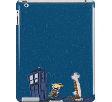 Calvin & Hobbes : Time Travel iPad Case/Skin