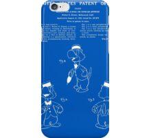 Jose Carioca Patent - Blueprint iPhone Case/Skin