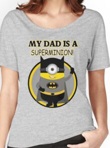 My Dad Is Super Mini Women's Relaxed Fit T-Shirt
