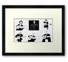 blues guitarists Framed Print