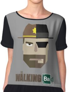 The Walking Bad Chiffon Top