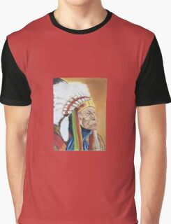 Indian Chief Graphic T-Shirt