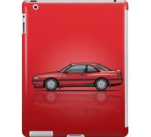 Mazda MX6 GT Red iPad Case/Skin